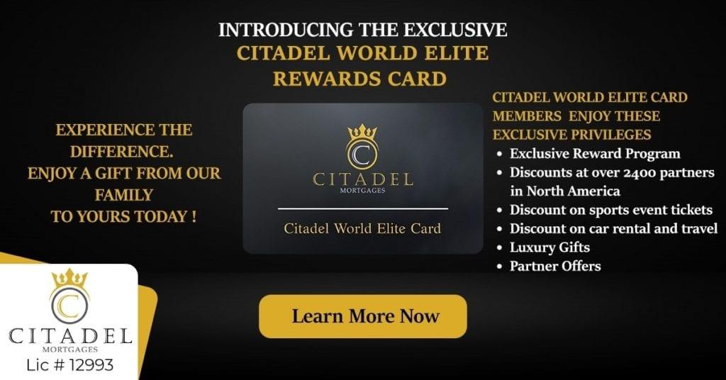 Citadel-Mortgage-Reward-Card - Citadel World Elite Rewards Card