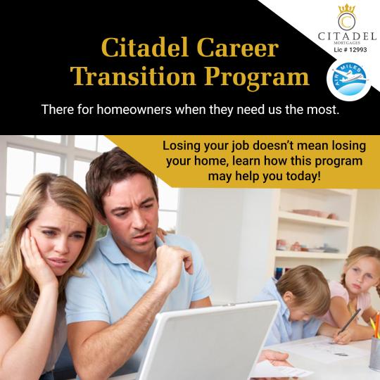 Citadel Career Transition Program - Citadel Mortgages