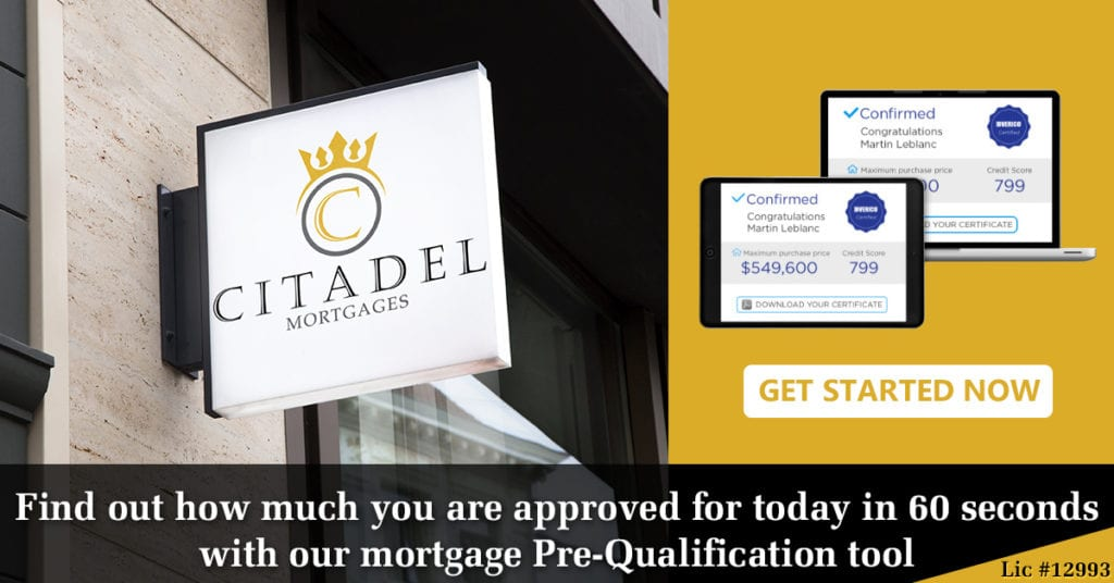 Citadel Mortgages Pre-qualification
