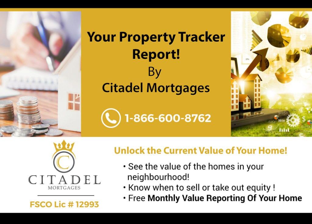 Property-Value-Report. Citadel Mortgage