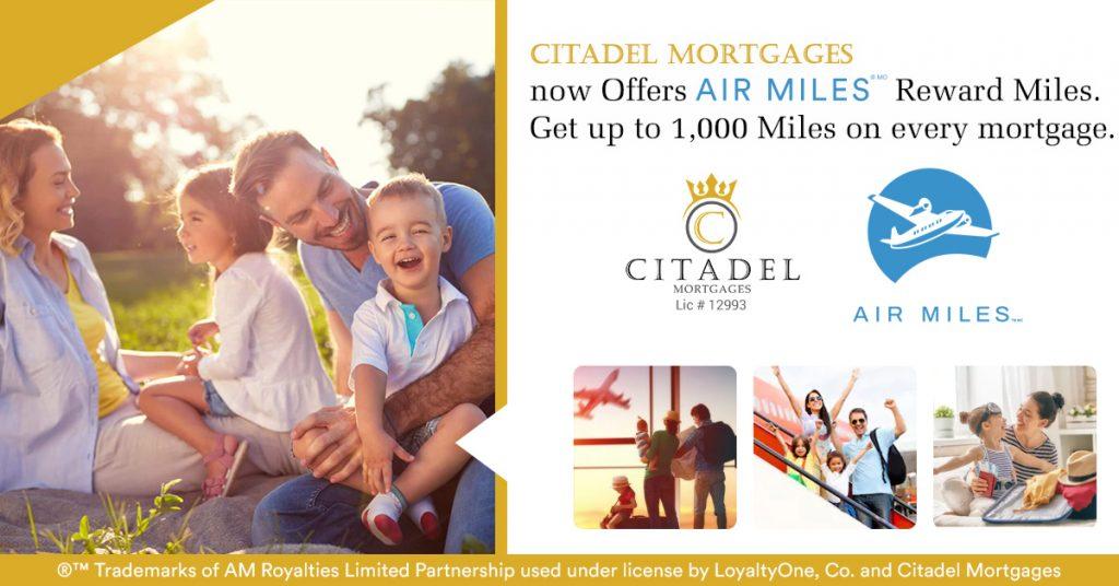 AIR MILES - Citadel Mortgage 6